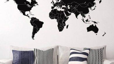 Photo of Shop den populære wallsticker verdenskort